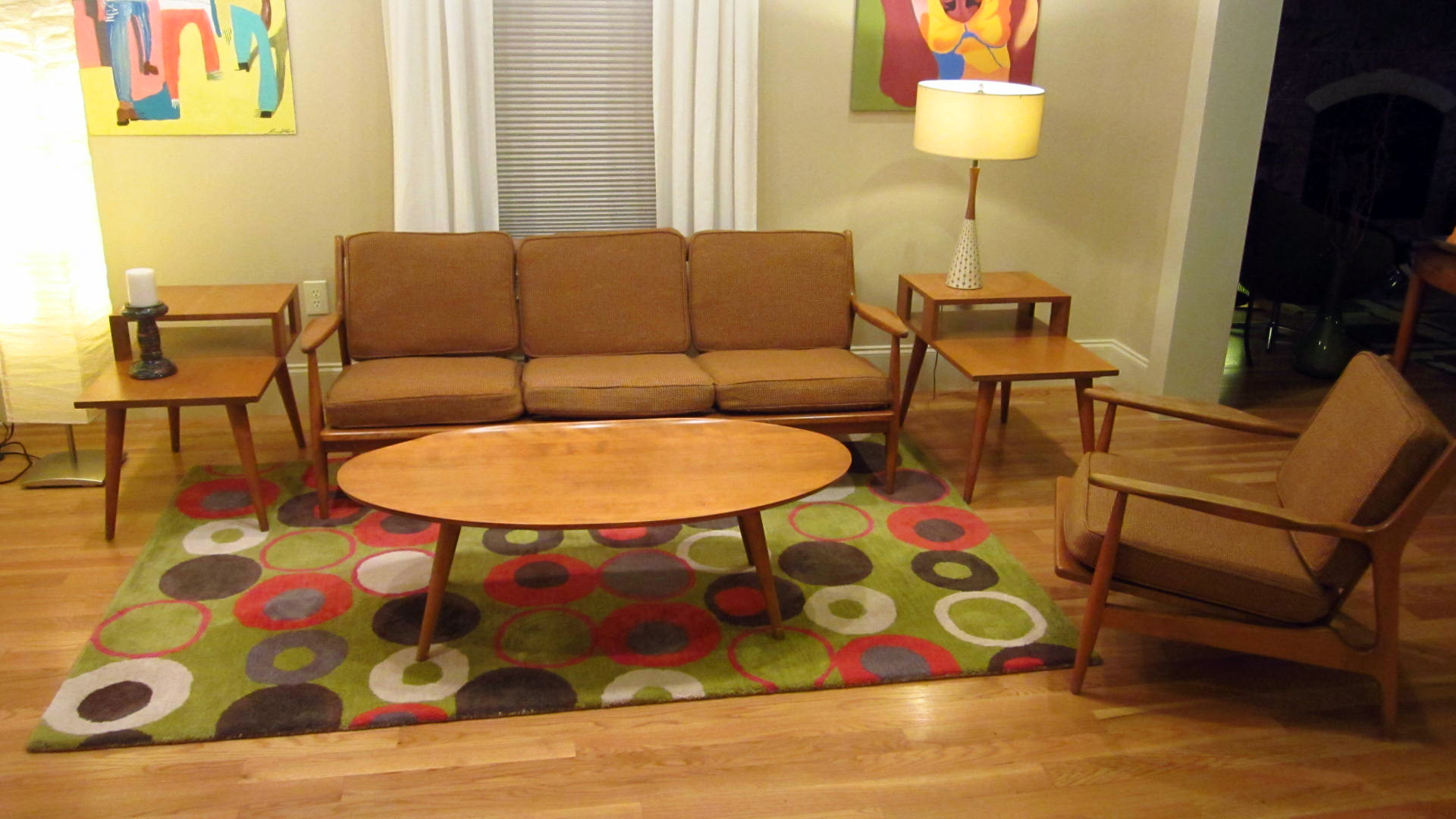conant ball furniture mid century surfboard modern 1950s dining room living rare ebay. Black Bedroom Furniture Sets. Home Design Ideas